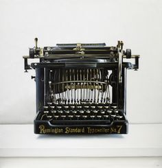 Christopher Stott / Remington Standard No. 7 Typewriter Painting