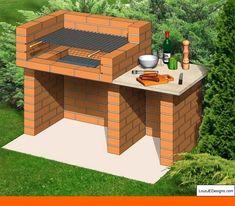 New ideas for backyard bbq brick outdoor fireplaces - Backyard Landscaping Fire Pit Backyard, Backyard Bbq, Backyard Patio Designs, Backyard Landscaping, Backyard Ideas, Landscaping Ideas, Backyard Plants, Porch Ideas, Patio Ideas