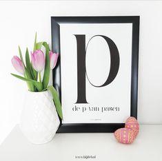 bij deb: Free printable de P van Pasen...