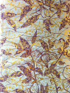 Golden Wax Print African Fabric