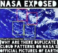 "If you ask NASA, they say ""it's photoshopped, but it has to be..."" go ahead, go look it up on YouTube you'll find the interview."