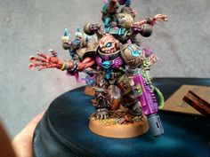 I'm not sure what this model is exactly. But it looks chaotic and it has some nice colors.