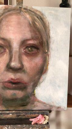 Female Portrait, Portrait Art, Portraits, Academic Art, Painting Techniques, Abstract Art, My Arts, Painters, Haircolor