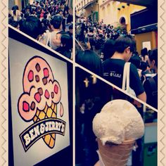 Ben n jerrys free cone day :PPP Ben And Jerrys, Ice Cream, Fan, My Favorite Things, Photos, No Churn Ice Cream, Gelato, Fans, Ice Cream Desserts
