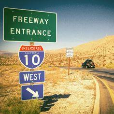 Was headed to AZ but the ocean called me back home.  #travelamerica #traveldiaries #roadtrip #roadtripusa #interstate10 #i10west #california #lilahum #movingintofreedom #nomadnotes #travelforlife #freeway #desert #inlandempire #wanderlust #adventures #freedom