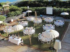 Beach side Wedding Reception   WaterColor Inn & Resort   Northwest Florida