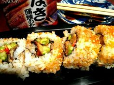 Unagi Roll Recipe.