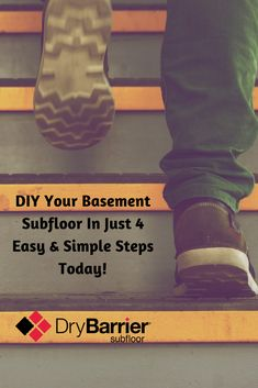 DIY Your Basement Subfloor in 4 Simple Steps. For more information visit www.drybarrier.com  #DryBarrier #Subfloor #Basement #DIY #Reno #Reno2Reveal #HomeDecor #Renovation Basement Subfloor, Picture Sharing, Flooring, Simple, Diy, Bricolage, Wood Flooring, Do It Yourself, Homemade