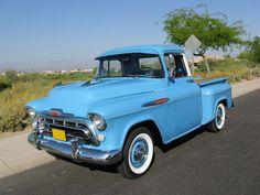 1957 Chevrolet 3100 Stepside - Front