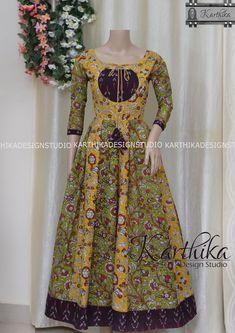 Salwar Suit Neck Designs, Latest Salwar Kameez Designs, Sari Blouse Designs, Kurta Designs Women, Dress Neck Designs, Kalamkari Dresses, Ikkat Dresses, Long Gown Dress, Frock Dress