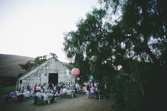 love this Cayucos Creek barn venue!