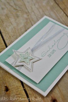 Handgefertigte Einladungskarte zur Taufe von KartenWerk.  Die Karte ist auch in anderen Farben herstellbar und in meinem DaWanda Shop erhältlich http://de.dawanda.com/shop/Das-KartenWerk . Ich freue mich auf euren Besuch =)