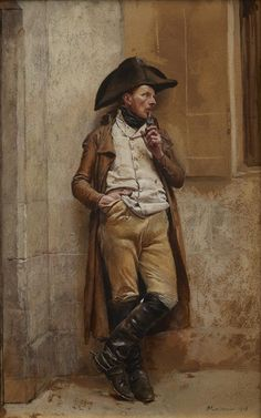 'Le Fumeur', 1873, Jean-Louis-Ernest Meissonier