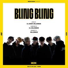 IKON NEW KIDS BLING BLING, ikon 2017 comeback, ikon 2017 comeback teaser, ikon 2017, yg new boy group 2017, ikon kpop members