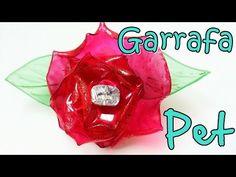 Reciclagem Samambaia de garrafas pet.Flores,plantas e animais. - YouTube