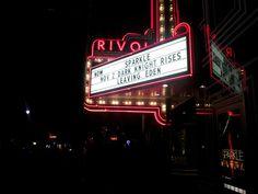 """Leaving Eden"" Taken at the Rivoli Theater in Cedarburg, WI. Photo (c) Angie Mack Reilly 2013"
