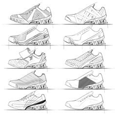 running shoe sketches - Google Search