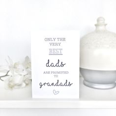 Cute Fathers Day Card Grandad Fathers Day Card, Fathers Day Card for Grandad, Fathers Day Card, Fathers Day, Card for Grandad on Fathers Day, Grandad Card by QuaintlyKate on Etsy #fathersday #grandadcard #fathersdaycard