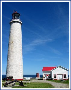 The highest lighthouse in Canada - Gaspe, Quebec