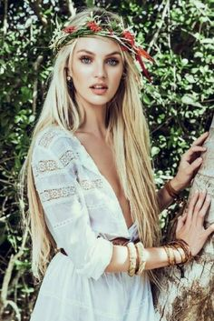 Cutest boho angel, hippie style | Fashion And Style   For the Bride Honeymoon night modest nightwear and #BridalLingerie, wwwPerfectMuslimWedding.com