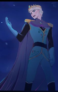 Male Elsa as Elster singing his song of Let It Go in his King Coronation outfit in Genderbent style Disney Pixar, Disney Animation, Frozen Disney, Disney And Dreamworks, Disney Magic, Frozen Anime, Elsa Frozen, Gender Bent Disney, Disney Gender Swap