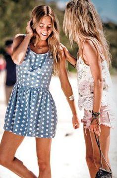 polka dot dress (wish it were a little longer)