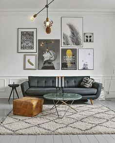 Matfh Your Room Colours And Furniture Style To Your Art, Perfect Home  Design For Artists And Gallery Art Lovers. DIY Small Apartment Decoratinng  Ideas On A ...