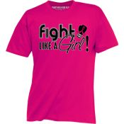 Fight Like a Girl. Breast Cancer Awareness Month