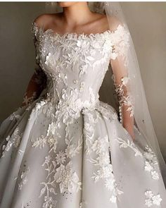 What a magical wedding dress! Pale Blue Silk Organdy and Satin Embroidery… What a magical wedding dress! Pale Blue Silk Organdy and Satin Embroidery… Dream Wedding Dresses, Bridal Dresses, Wedding Gowns, Lace Wedding, Wedding Dress Princess, Couture Dresses Gowns, Princess Fairytale, Princess Ball Gowns, Wedding Summer