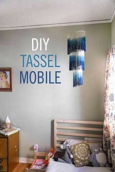 DIY Tassel Mobile - http://www.babble.com/home/diy-tassel-mobile?utm_source=rss&utm_medium=Sendible&utm_campaign=RSS