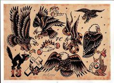 Sailor Jerry Old School Tattoo