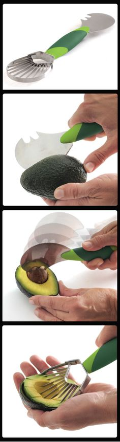 Easy-Grip Avocado Tool //