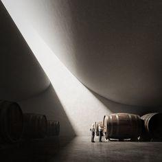Peter Zumthor - Pingus Winery (Unbuilt Series)
