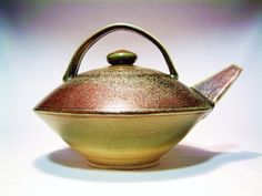 LARGE green Teapot by Haywainpottery on Etsy, $170.00