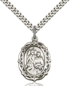 St Raphael the Archangel Pendant (Sterling Silver) by Bliss | Catholic Shopping .com