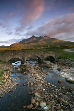 Sligachan Old Bridge - Isle of Skye, Scotland