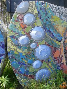 Bubbles, part of Posion Saaga mosaic work Interior Design Companies, Ceramic Design, Finland, Centre, Tourism, Mosaic, Bubbles, Ceramics, Outdoor Decor