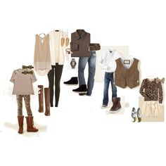 Neutrals - Fall Family Style Guide