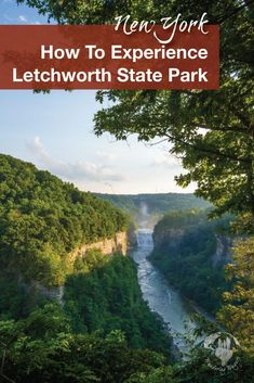 Travel USA   Voted the Number One State Park in the United States and dubbed the Grand Canyon of the East, visiting Letchworth State Park with kids is a must! Read more to learn about things to do for family travel, and camping with kids ideas.