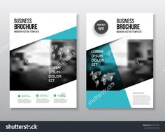 Red Black Abstract Circle Annual Report Brochure Design Template