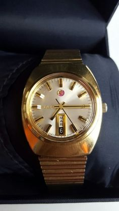 Catawiki online auction house: Rado Voyager--wristwatch-men-1970's