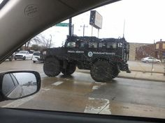In Dallas. Note UN sticker on the side. No link to this one.