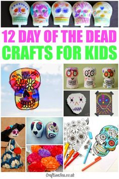 Day of the Dead Crafts for Kids - Crafts on Sea