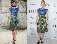 Cate Blanchett In Proenza Schouler - Elle's 19th Annual Women In Hollywood Celebration