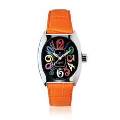 #MontresdeLuxe - Capri Orange - Montres De Luxe was born from an inspiring dream: to build up an Italian watch reality, both in the creative design and in production that would interpret the values that have made the BelPaese world famous. Symbol of personality and harmony, elegance and Italian good taste, each model Montres de Luxe expresses beauty and luxury, elegance and style,