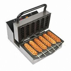 Business On a Stick Waffles Cooking Gadgets, Cooking Tools, Cooking Recipes, Ice Cream Shop Names, Bagel Toppings, Waffle Sticks, Food Truck Menu, Concession Food, Waffle Iron Recipes