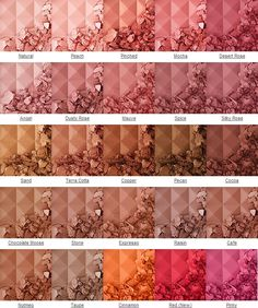 NYX Blushes!!!!!!! I have Pinched...I'd like to try Mauve, Angel, Natural, Stone, and maybe Peach or Mocha