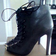 Black boots Black heel boots Rue 21 Shoes