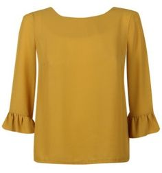 Phyllis Mustard Top (Sizes XS - XL) Occasion Wear, Special Occasion Dresses, Colour Block, Color Blocking, Mustard Top, Race Day, Fashion Boutique, Party Dress, Trousers