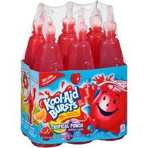 Kool aid bursts--tropical punch was my fave! Mini Sala, Candy Theme Birthday Party, Yummy Drinks, Yummy Food, Junk Food Snacks, Candy Brands, Sour Candy, Food Goals